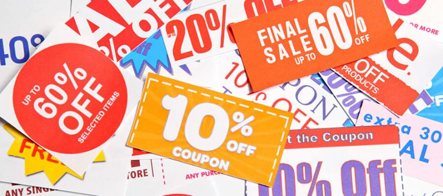 Use Online Coupons or Deals