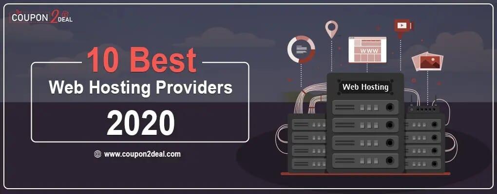 10 Best Web Hosting Providers 2020