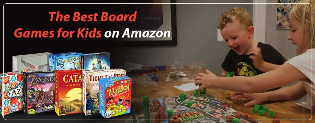 The Best Board Games for Kids on Amazon