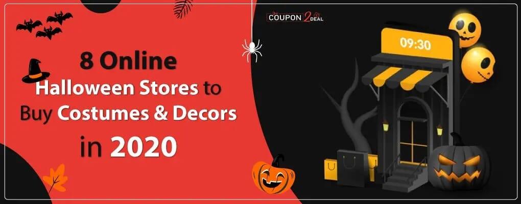 8 Online Halloween Stores to Buy Costumes & Decors in 2020