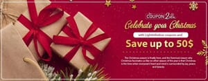 Celebrate your Christmas with LightInTheBox coupons and save up to 50$
